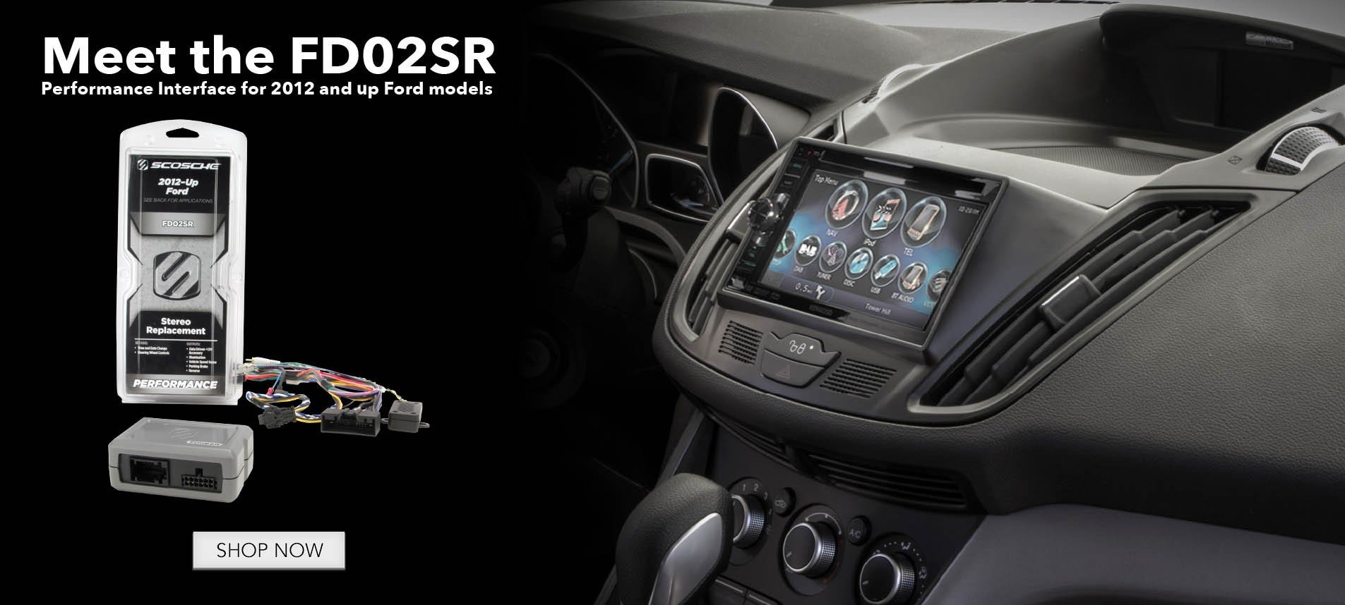 FD02SR Ford performance interface