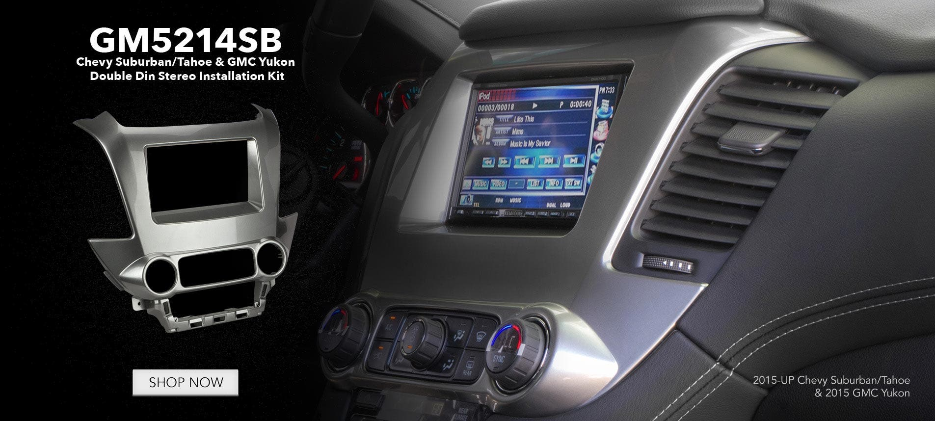GM5214SB dash kit Chevy Silverado