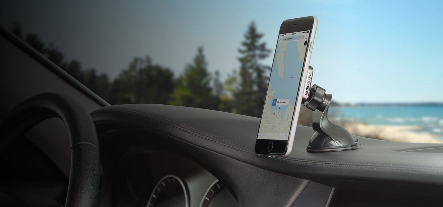 MagicMount Pro Magnetic Mount for Mobile Devices