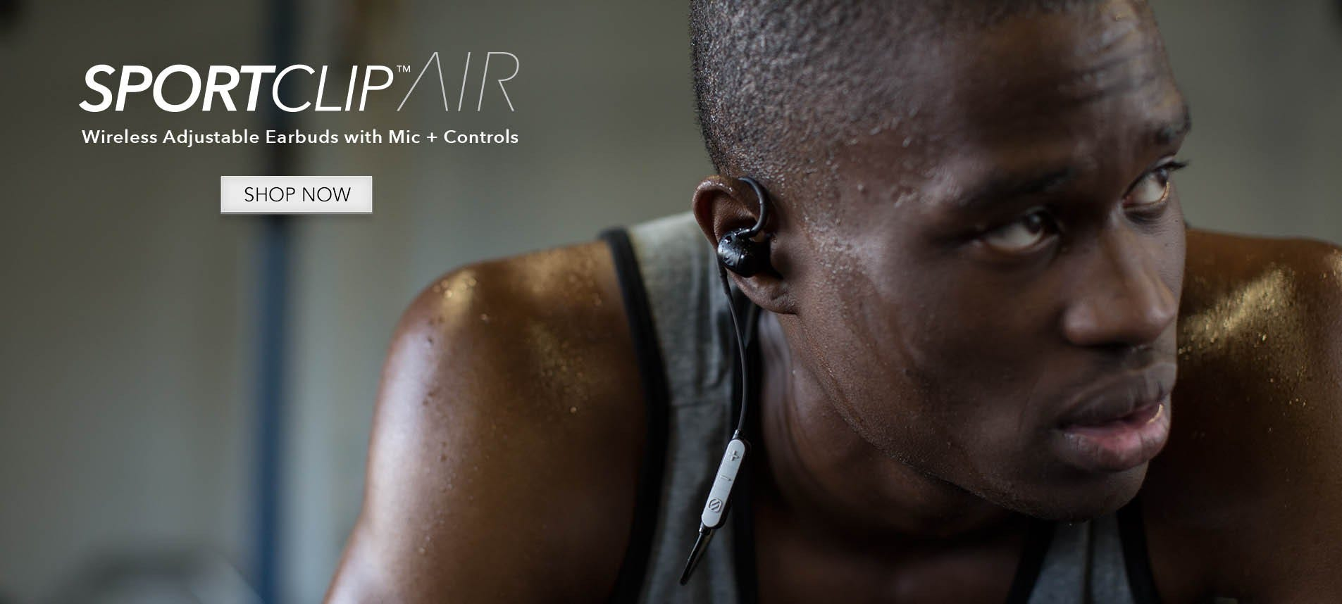 SportClip Air bluetooth sport headphones