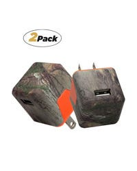 usb wall charger,  realtree, two pack