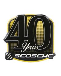 Scosche 40th Anniversary Pin
