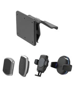 image of proclip base with all phone mounts heads