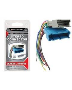Car Stereo Connectors   General Motors Car Stereo Connector