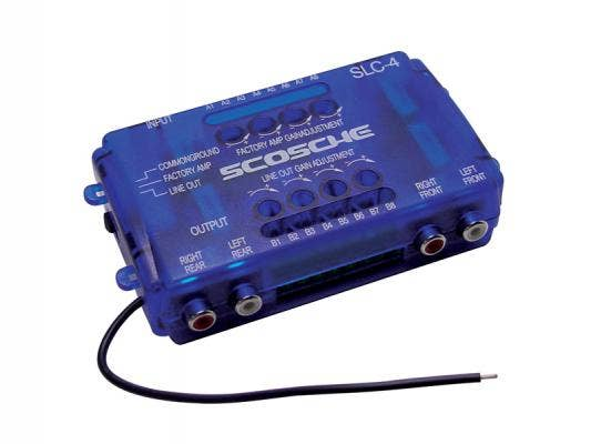 Scosche SLC-4 4-Channel Adjustable Line Output Converter