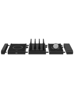 Black Modular Charging Station Kit