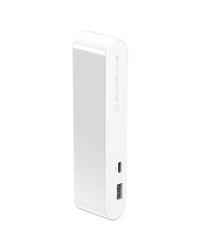White Dual-Port EndCap Charger