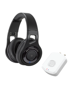 Bluetooth Audio Transmitter and Bluetooth Headphones Bundle