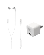 Base image of headphones and wall charger
