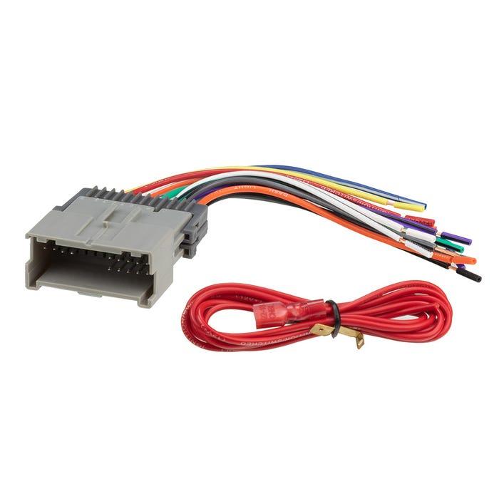 scosche gm05b wiring harness for gm 2000 - 2004  scosche