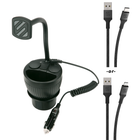 Magnetic Cup Holder Mount and 1ft LightningCable Bundle