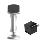 Image of phone mount and wall charger