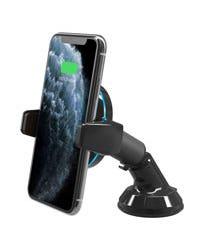 Qi Charging Auto-Grip Double-Pivot Mount