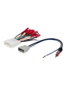 2007-Up Nissan and Subaru Vehicles Wire Harness & Antenna Adapter Bundle