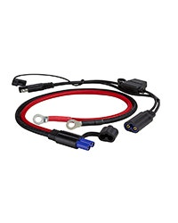 Battery Jumper cables and adapter