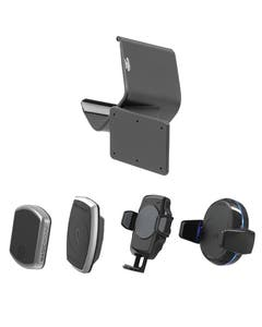 Image of Procip base mount with all phone mount heads
