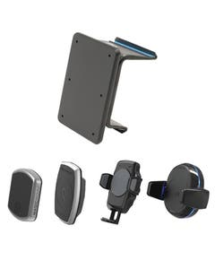 Proclip base with all head mounts heads