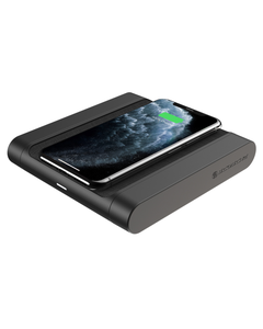 Black  Qi-enabled smartphone or Wireless Charging Pad