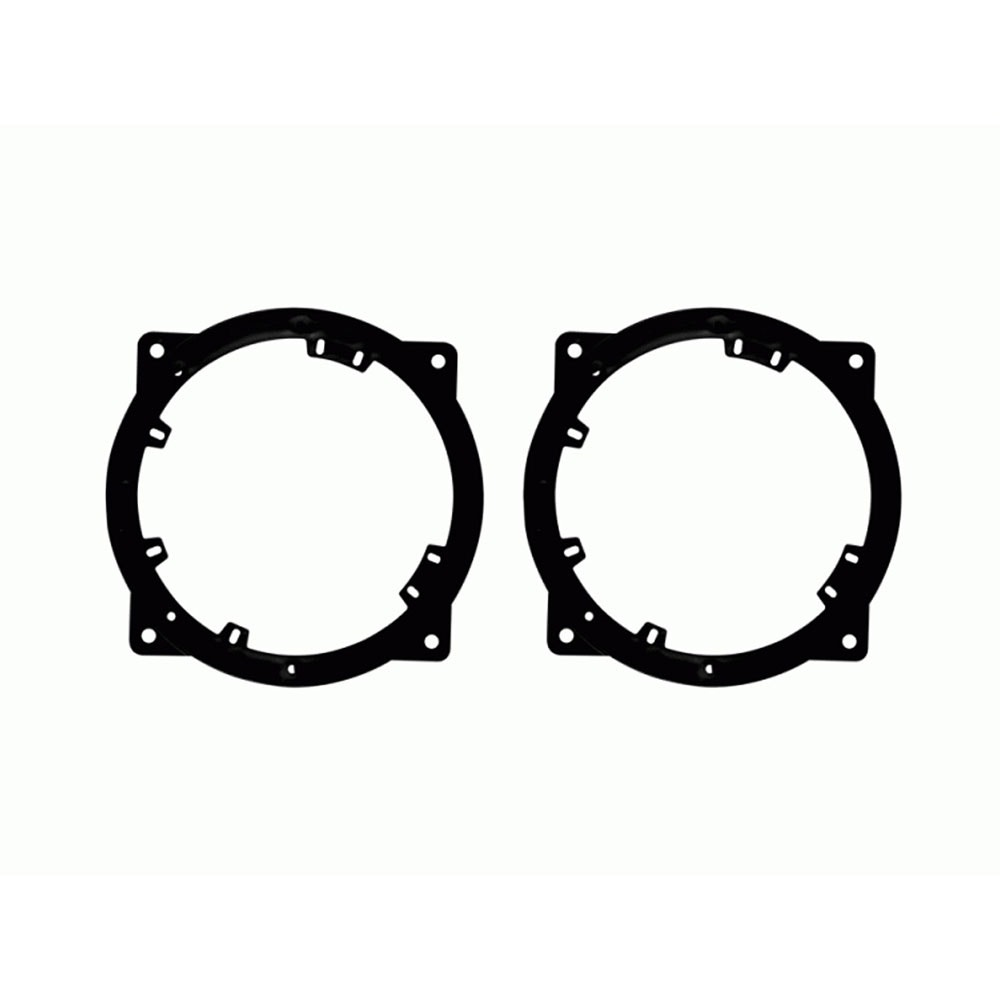 Scosche SAHY653 Compatible with 2010-12 Hyundai Genesis Coupe Speaker Adapter 6.5-6.75 Pair
