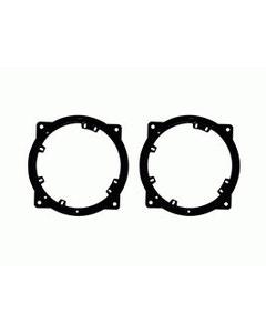 "2010 to 2012 Kia® Optima, 2011 to 2012 Hyundai Azera and 2011 to 2014 Sonata 6.5"" or 6.75"" Speaker Adapter Pair"