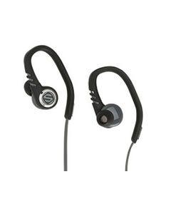 Black Sport Earbuds | SportFlex
