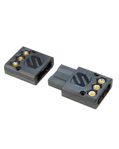 Connector for amplifiers