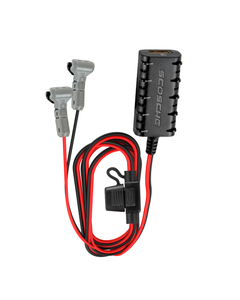 Universal 5.ft USB Hard Wire Kit with USB-A and Quick Connectors