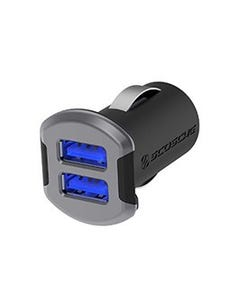 Space Gray Dual iPhone Car Charger