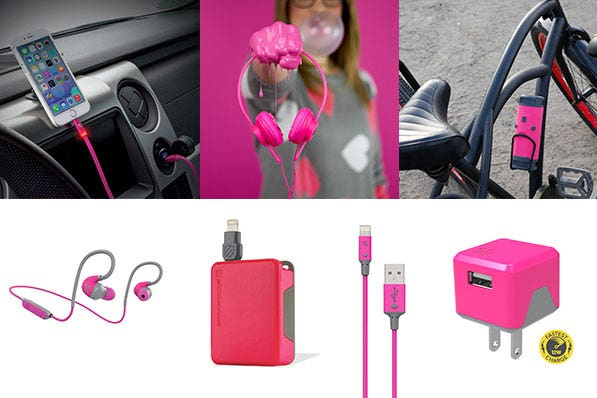 GoPink for Hope with Scosche this November for Breast Cancer Awareness Month