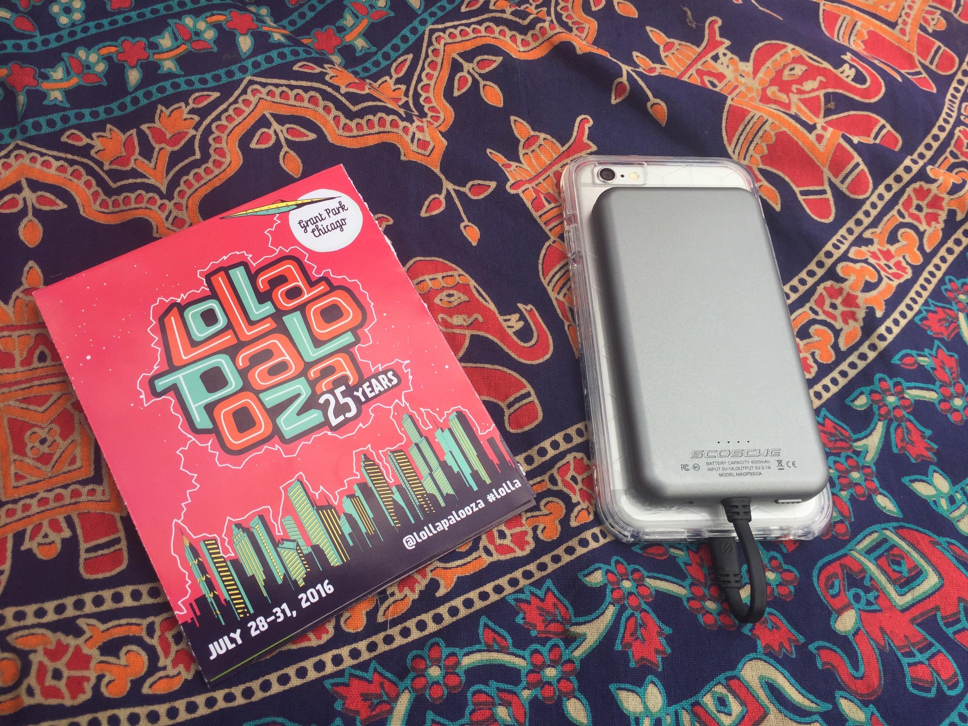 Optimized for Music Festivals - Lollapalooza 2016