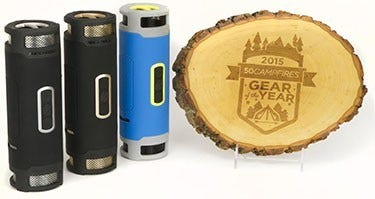 50 Campfires awards the boomBOTTLEplus Gear of the Year