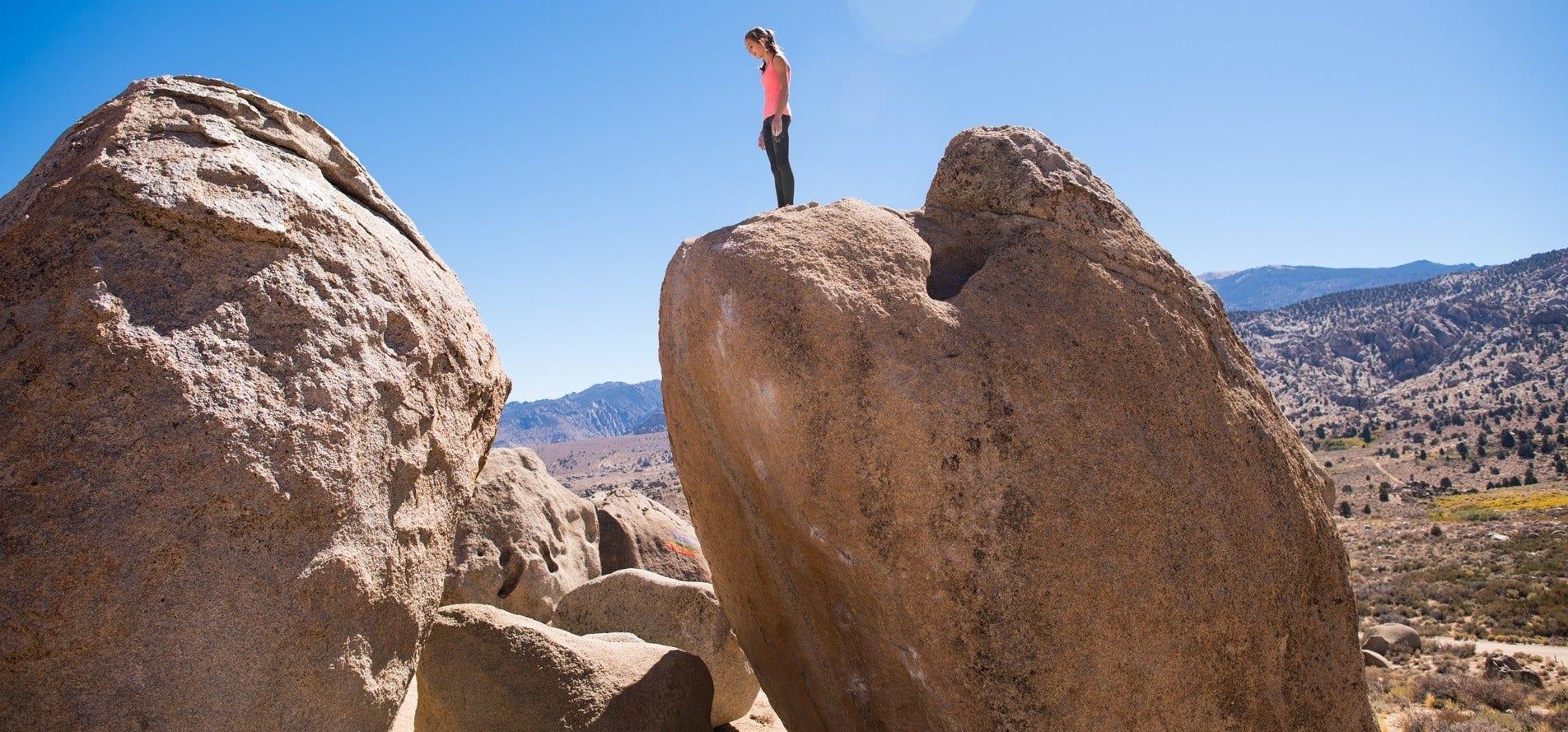 Ameila Marcuson Rock Climber