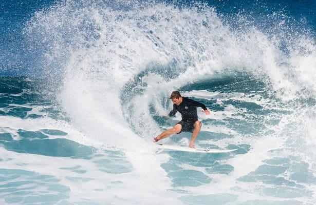 Clarke Surfing