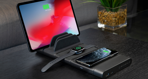Black Pad Wireless Charging Pad