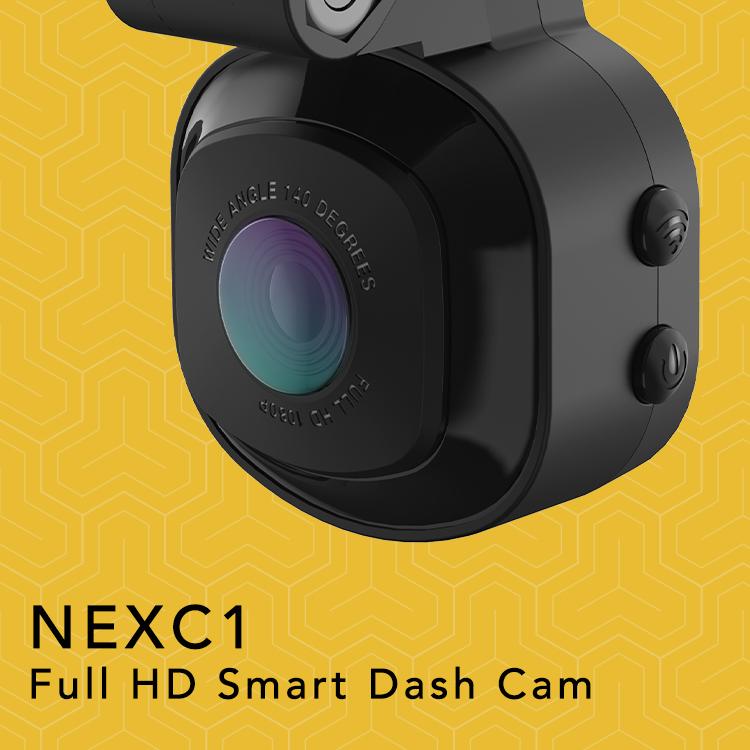 NECX1-Full HD smart dash cam Graphic