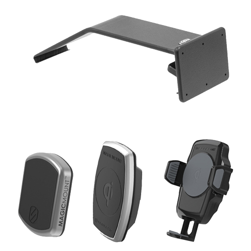 ProClip Phone Mount for 2018-2019 Jeep Wrangler JL and 2020 Jeep Gladiator