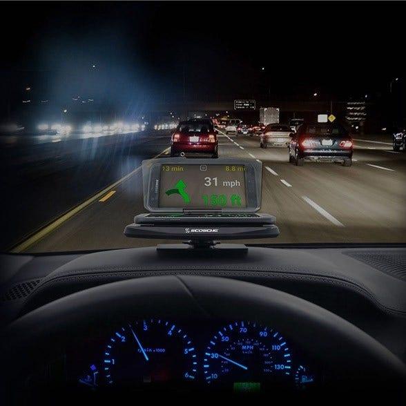 HUDSPi - Smartphone Display for HUD, Navigation and Other Apps