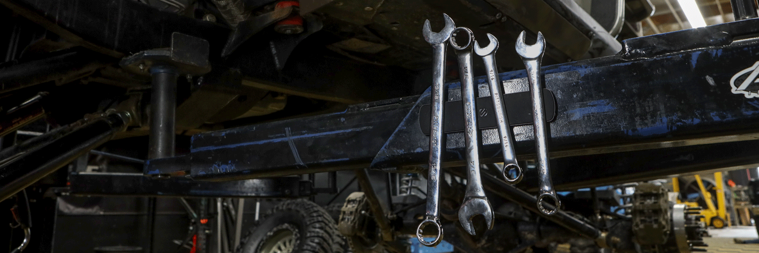 Graphic Banner image of Garage Tools
