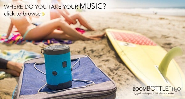 boombottle h2o black