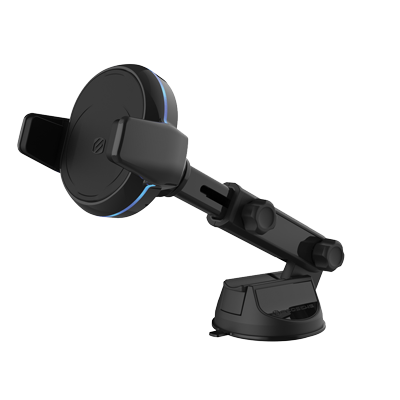 image of charging mount with extending arm