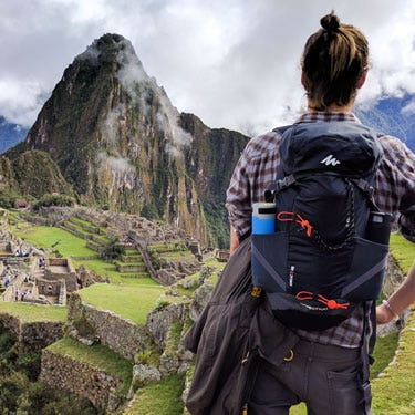 Optimized for Outdoors in Machu Picchu