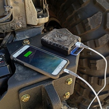 Rugged Waterproof Backup Battery