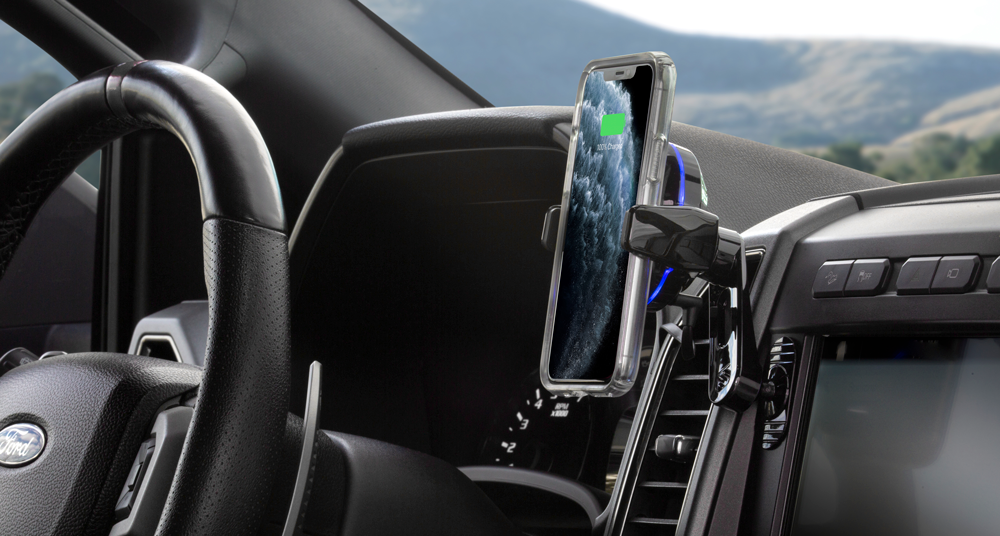 Dash Mount in car with phone