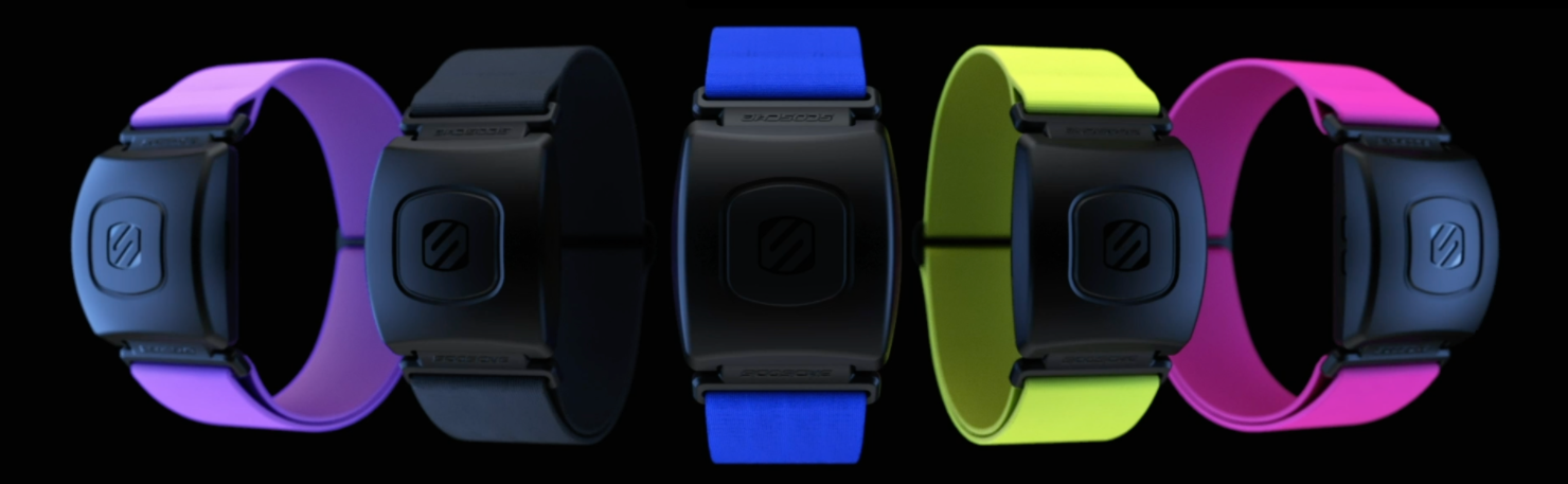 image of heart rate monitor in different colors