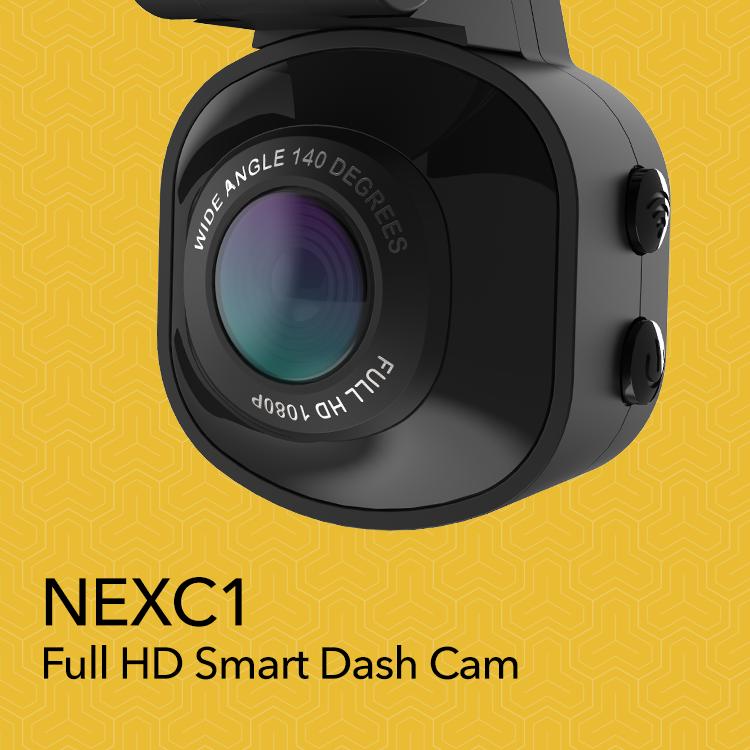 NECX1-Full HD smart dash cam