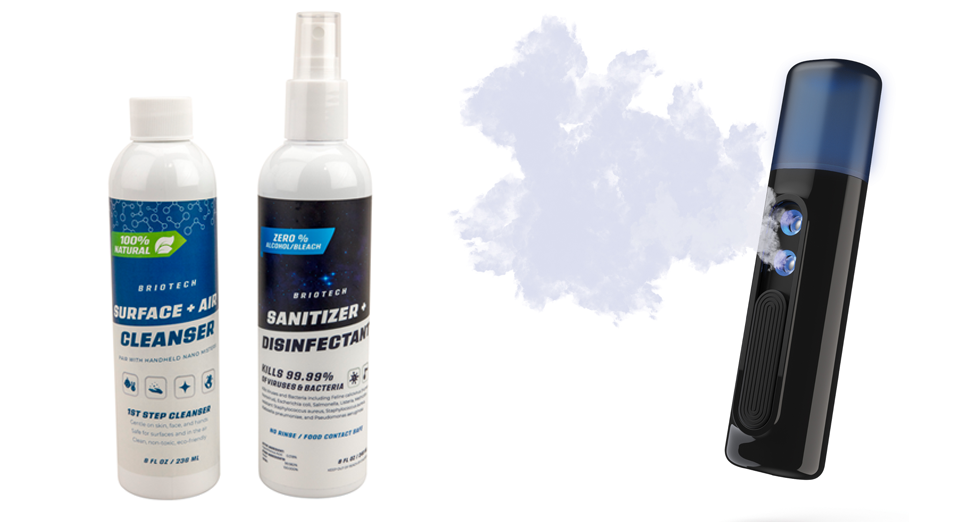 Cleanser & Sanitizer + Disinfect