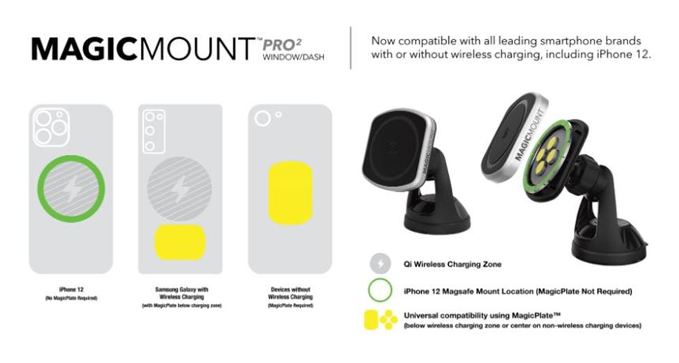 MPWD2 - MagicMount Pro Mounting