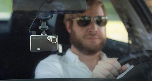 DDVR720 Dash Cam in car