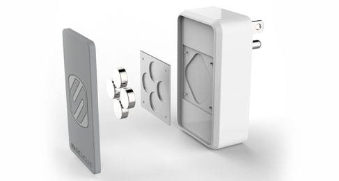 MH121 - MagicMount Wall Charger - magnets