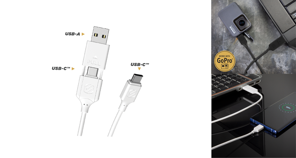 Strikeline 2-in-1 Charge & Sync Cable